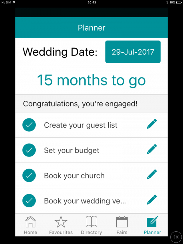Wedding planning made easy with the lwb wedding planner app for Plan book app